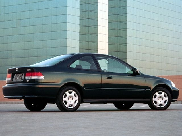 1999 Honda Civic EX 2dr Cpe Auto Coupe