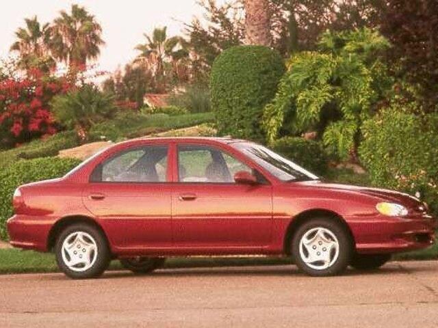 1999 Kia Sephia Sedan