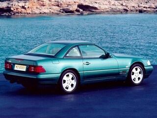 1999 Mercedes-Benz SL-Class SL 600 Convertible
