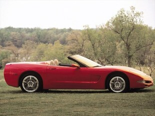 2000 Chevrolet Corvette Base Convertible