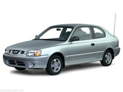 2000 Hyundai Accent GS Hatchback