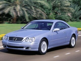 2000 Mercedes-Benz CL-Class CL 500 Coupe