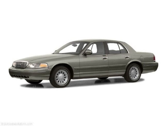 Used 2001 Ford Crown Victoria Sdn LX near Springfield