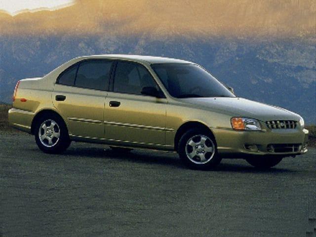2001 Hyundai Accent GL Sedan