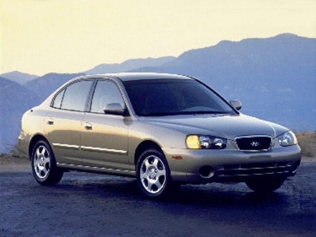 2001 Hyundai Elantra GLS Sedan