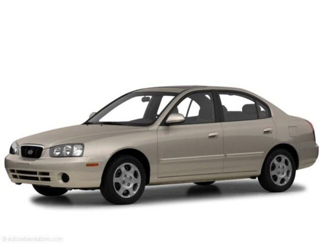 Used 2001 Hyundai Elantra GLS Sedan for sale in Fort Wayne, Indiana
