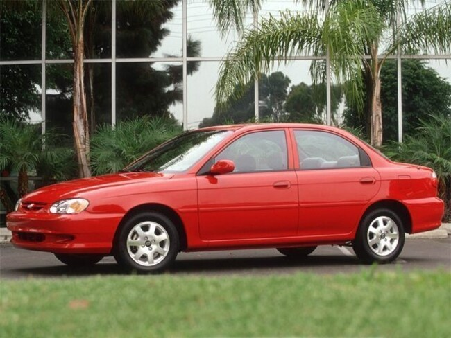 2001 Kia Sephia Sedan