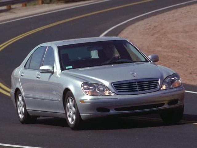 2001 Mercedes-Benz S-Class Base Sedan