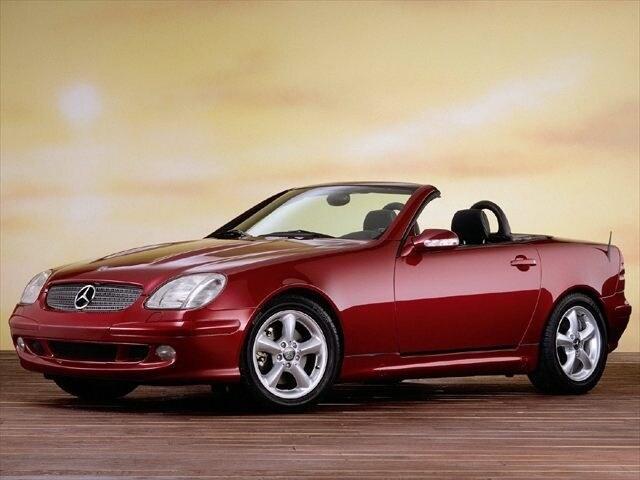 2001 Mercedes Benz SLK Class Base Coupe