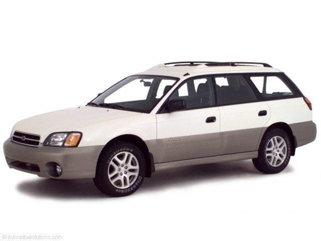 2001 Subaru Legacy 5dr Outback Auto w/RL Equip Station Wagon 4
