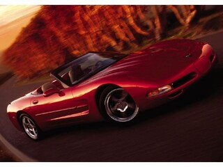 2002 Chevrolet Corvette Base Convertible