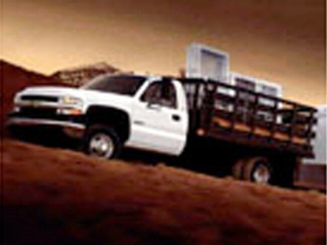 2002 chevrolet silverado k3500 cb