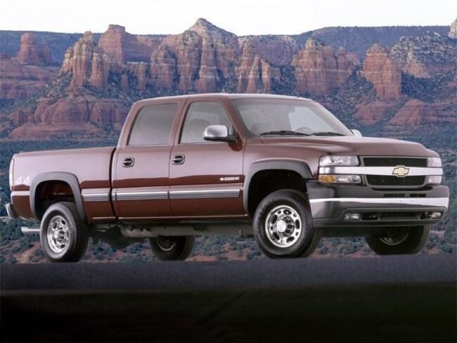 2002 Chevrolet Silverado 2500HD LT Truck Crew Cab