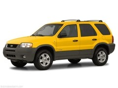 Bargain Inventory 2002 Ford Escape XLT SUV for sale in Wooster, OH