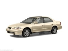 2002 Honda Accord Sdn VP Car