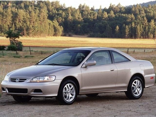 Charming 2002 Honda Accord EX Coupe