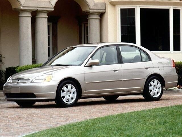 2002 Honda Civic LX w/Side SRS Sedan