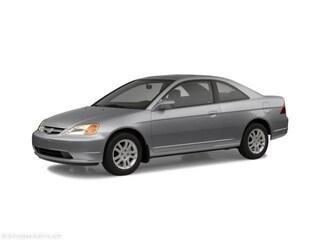 Bargain 2002 Honda Civic EX Coupe Rosenberg, TX