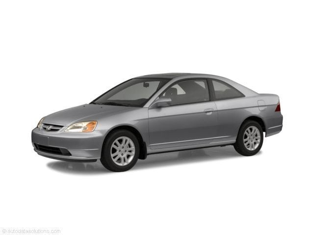 Used 2002 Honda Civic EX Coupe In Wesley Chapel, FL