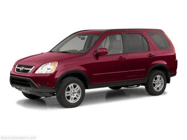 2002 Honda CR-V 4WD EX Auto SUV