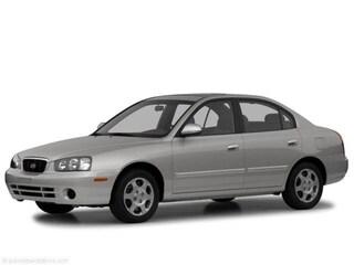 2002 Hyundai Elantra GLS Sedan
