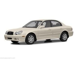 Used 2002 Hyundai Sonata 4DR SDN GL AT Sedan
