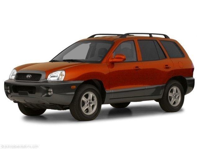 2002 Hyundai Santa Fe SFE SANTA FE GLS/LX UT SFE
