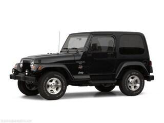 Used 2002 Jeep Wrangler X SUV Tucson