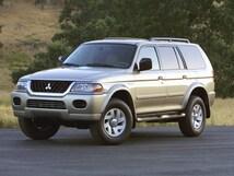 2002 Mitsubishi Montero Sport XLS XLS  SUV
