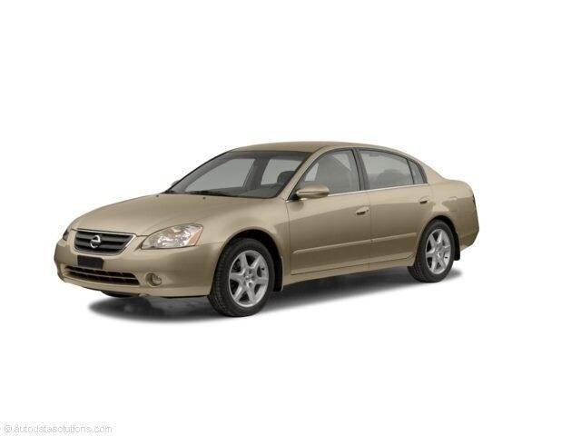 2002 Nissan Altima 2.5 S sedan