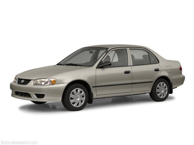 2002 Toyota Corolla Sedan MPI DOHC