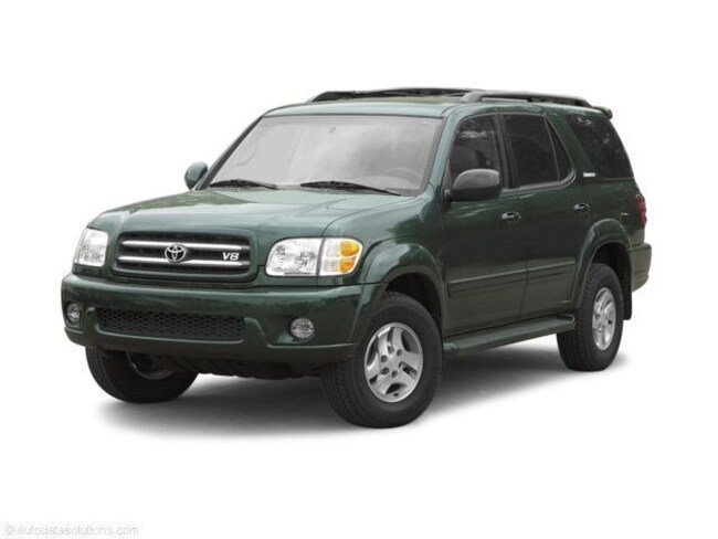used toyota 2002 Toyota Sequoia Limited V8 SUV massillon