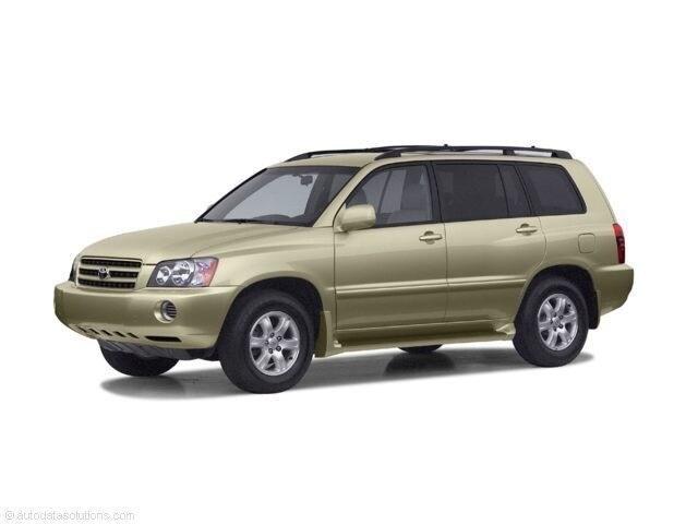 2002 Toyota Highlander Limited V6 SUV