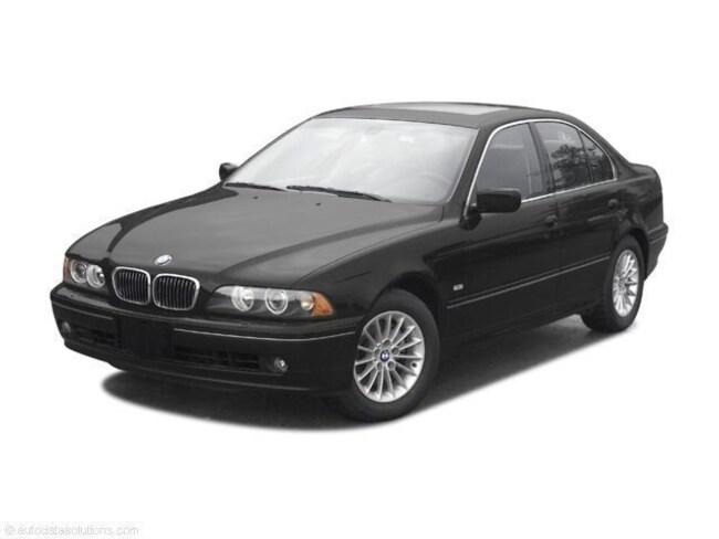 2003 BMW 525iA 525iA   5-Spd Auto Sedan