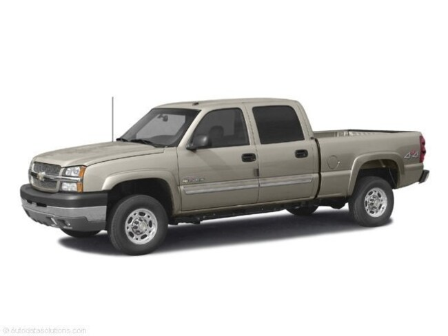 2003 Chevrolet Silverado 2500HD LS Crew Cab Short Box Truck SOLD AS IS