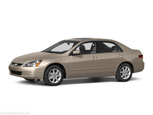 2003 honda accord sedan 4 cylinder