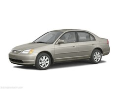 Bargain Used 2003 Honda Civic DX Sedan Redding, CA