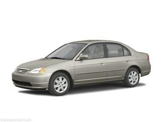 2003 Honda Civic 4dr Sdn LX Auto w/Side Airbags Car