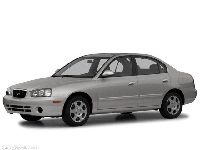 2003 Hyundai Elantra Sedan