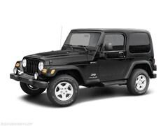2003 Jeep Wrangler X SUV
