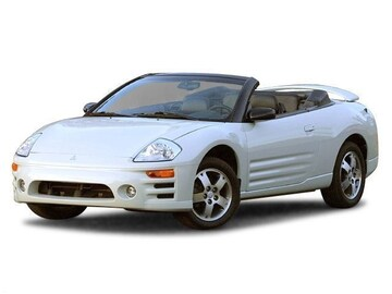 2003 Mitsubishi Eclipse Spyder Convertible