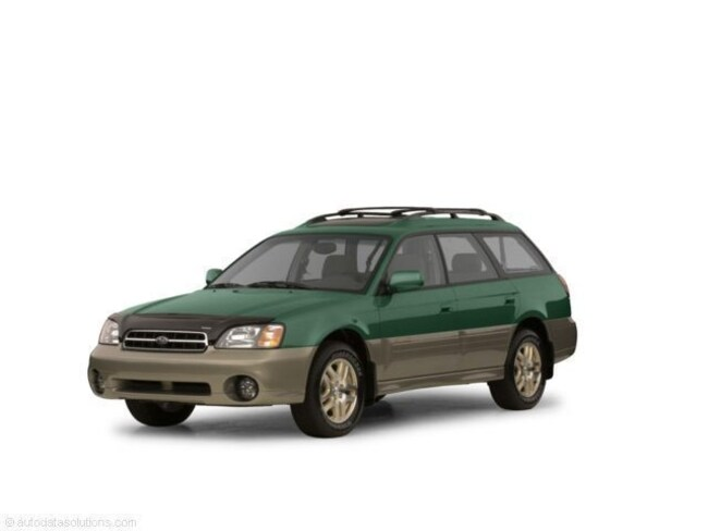 Used 2003 Subaru Legacy Outback H6 LL Bean Edition 71961 miles Stock S19001A VIN 4S3BH806X37