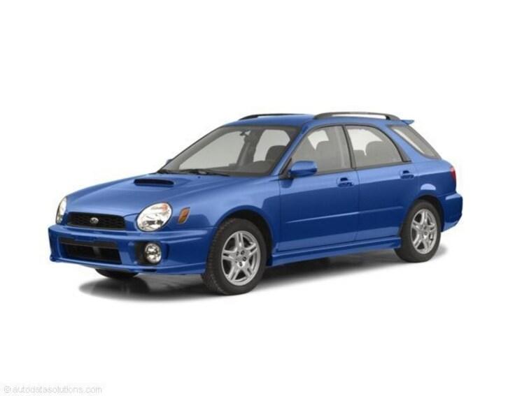 2003 Subaru Impreza WRX Sport Automatic Wagon 6N14210B