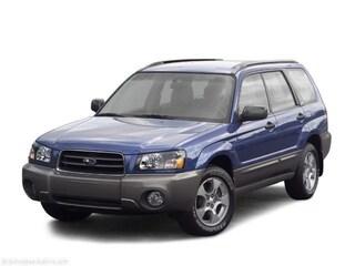 Used 2003 Subaru Forester 2.5X SUV JF1SG63643H735616 Dayton, OH