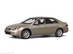 Used 2004 Honda Accord 2.4 LX Sedan 047451 for Sale in Springfield, IL, at Honda of Illinois