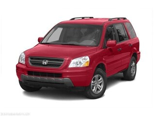 Used 2004 Honda Pilot 4WD EX Auto w/Leather/DVD Sport Utility 2HKYF18684H524957 P8471A for sale near you in Burlington, MA