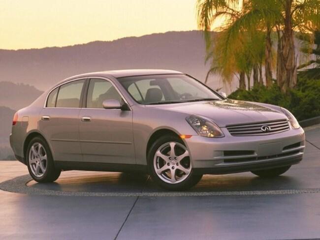 2004 INFINITI G35x Base Sedan