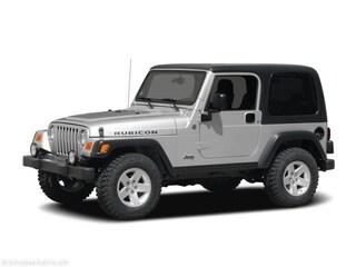 2004 Jeep Wrangler 2dr X Sport Utility