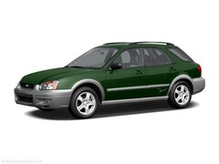 Bargain Used 2004 Subaru Impreza Outback Sport Outback Sport Wagon JF1GG68544H814789 in Hermantown, MN
