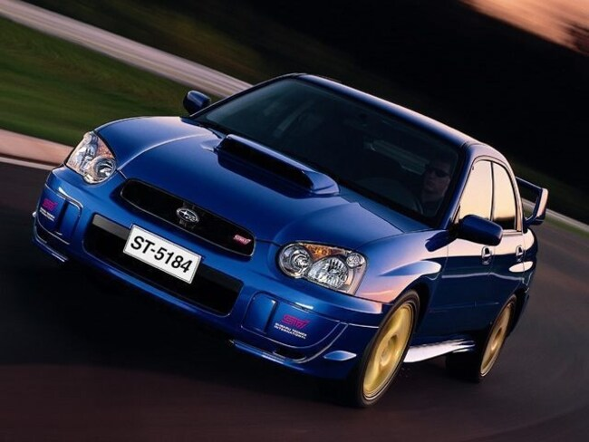 2004 Subaru Impreza WRX STi Base Sedan